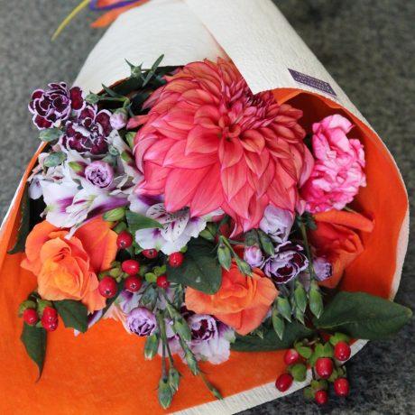 【花束】卒業祝い