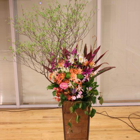 【スタンドアレンジメント】ステージ装花3