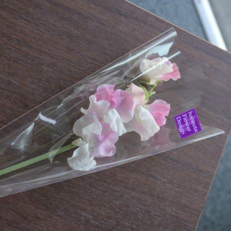 【花束】卒業式一輪花