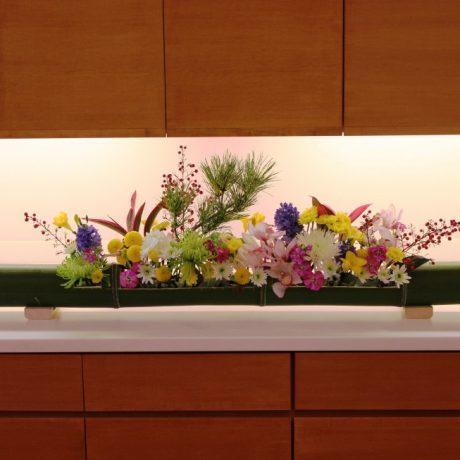 【活け込み】お正月装花2