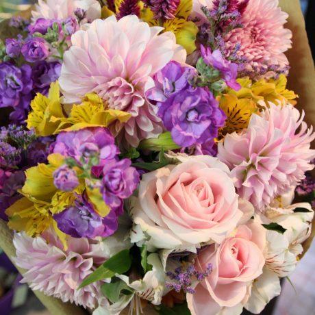 【花束】退職祝い2